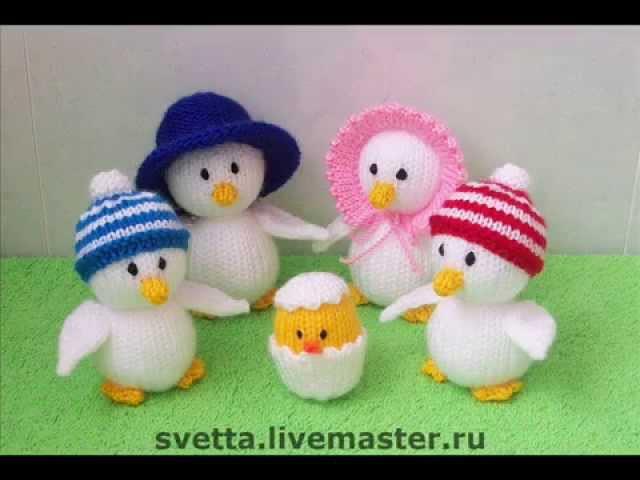 Вязаные игрушки. Пасхальные сувениры. Сrochet Тoys. Easter gifts