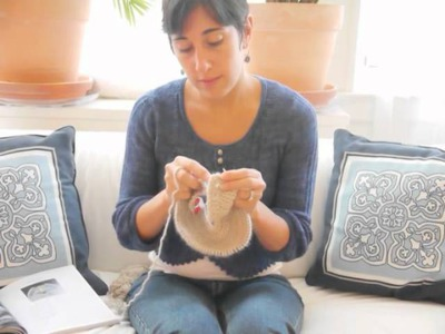 What To Knit Baby Cozy Tutorial