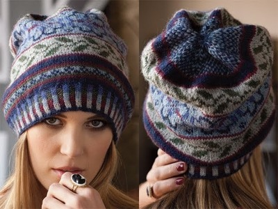 #6 Fair Isle Hat, Vogue Knitting Fall 2010