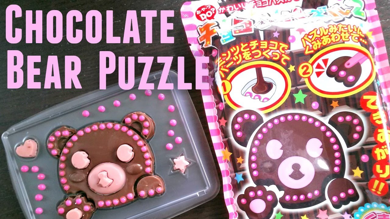 Chocolate Bear Puzzle - Whatcha Eating? #173