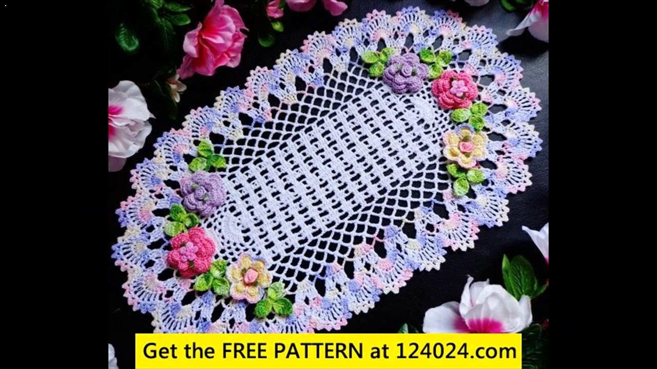 Crochet doily tutorial