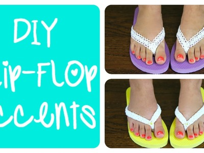 DIY Flip-Flop Accents | Brooklyn and Bailey