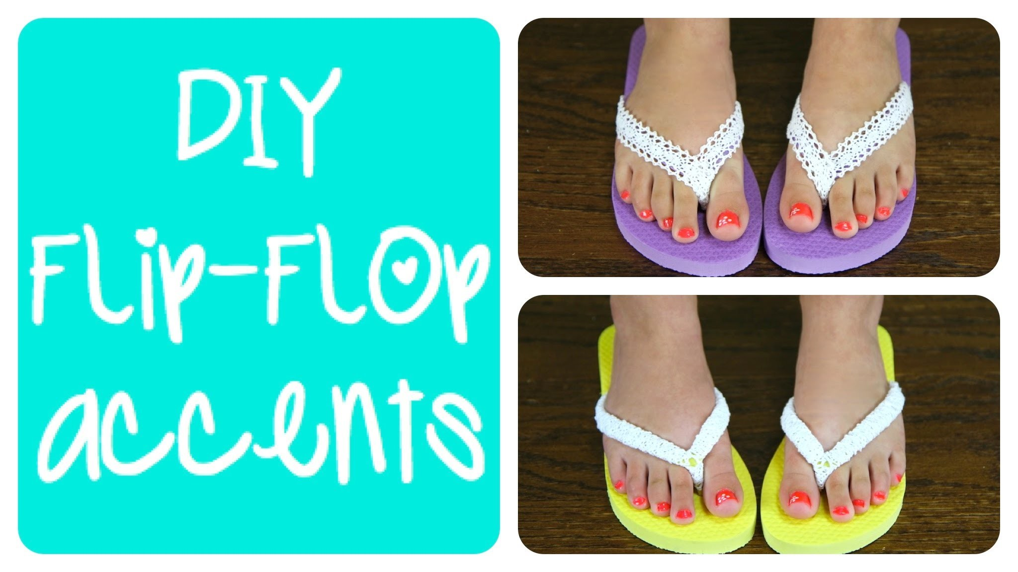 DIY Flip-Flop Accents | Brooklyn and Bailey