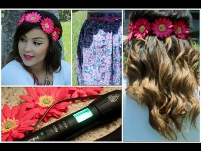✿DIY Floral Halo + Summer Waves Tutorial✿