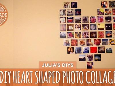 DIY Heart Photo Collage - HGTV Handmade