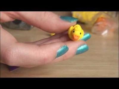 DIY: Polymer Clay Duck