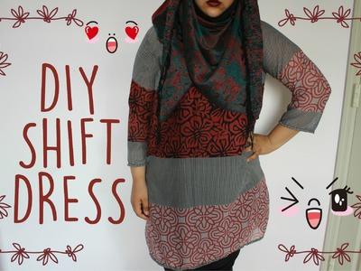 ✄ DIY Shift Dress