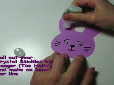 Easy Easter Bunny Cricut Craft