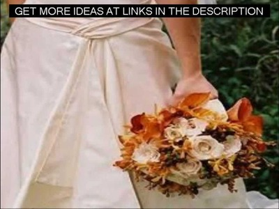 Fall Wedding Ideas|DIY|Cheap|Small Budget|Outdoors|How To|Autumn|Color|Creative|Country|Unique|Best