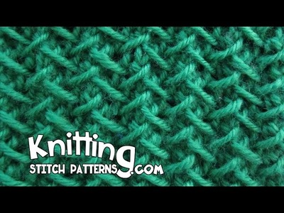 Herringbone stitch | Step-by-step Tutorial