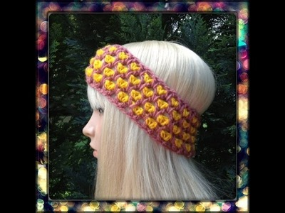 How to Crochet a Headband by ThePatterfamily Pattern #10