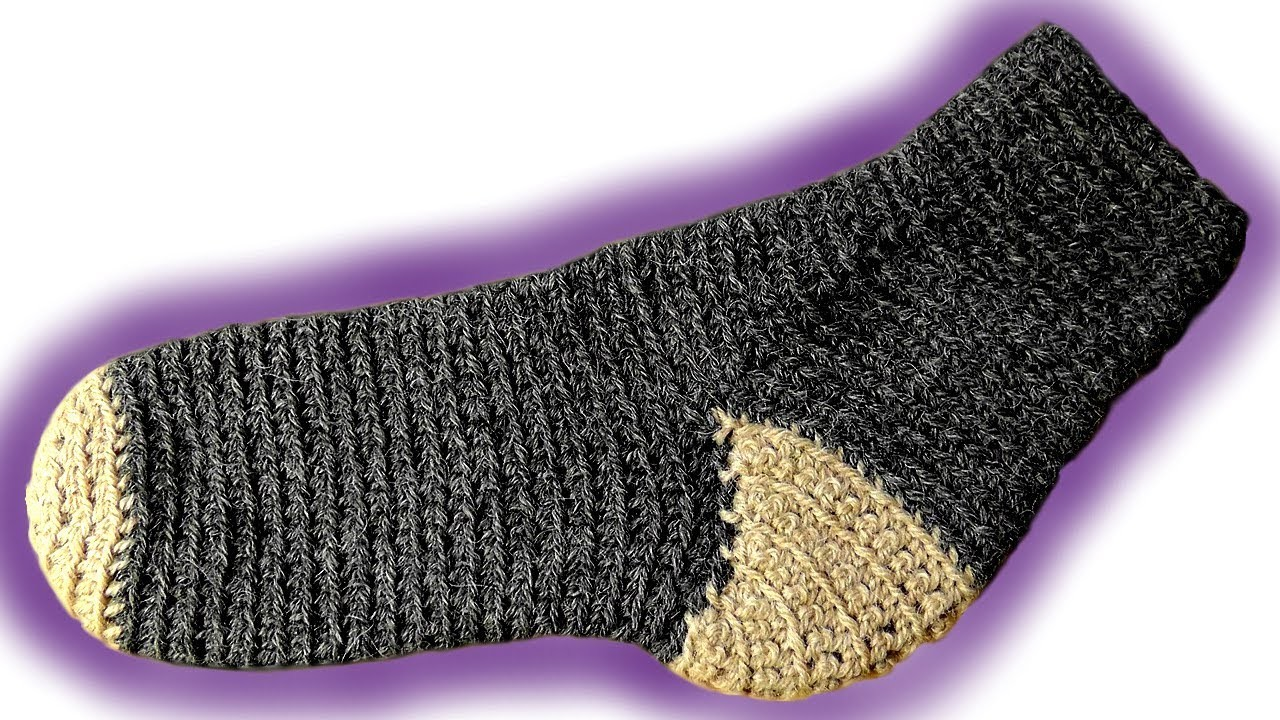 How to crochet toe-up socks [advanced]