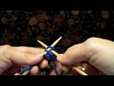How to do a Knitted Cast On using American (English) and Continental (German) styles