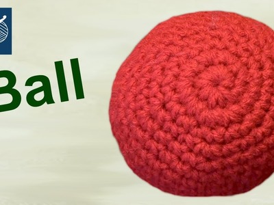 How to Make a Crochet Ball - Amigurumi - Left Hand Version Crochet Geek
