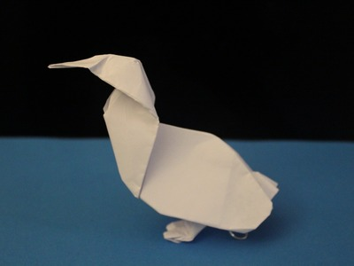 How to Make a Paper Bird (Duck) - Origami