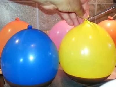 HOW TO MAKE CHOCOLATE BALLOON BOWLS. sorta!