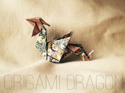 How to: Origami Dragon {EASY} | Nekkoart