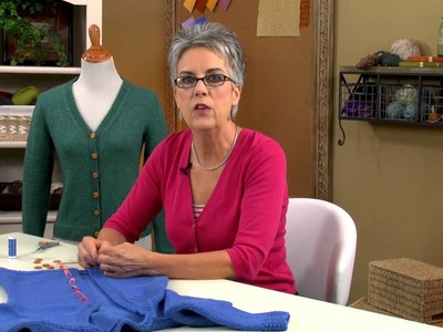 Learn How to Finish Knit Sweaters with Annie's Online Classes