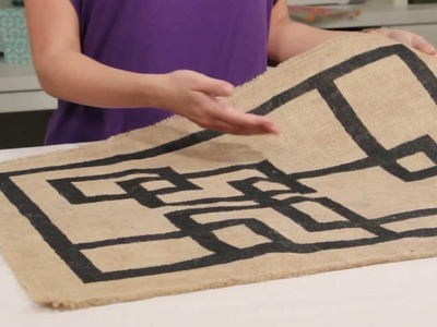 Learn with Jo-Ann: Design with Burlap!