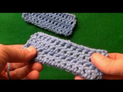 Left Hand: Crochet How To Fasten Off & Hide Loose Ends