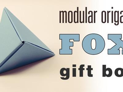 Modular Origami 'Fox Box' Tutorial