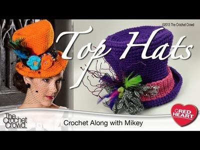 New Crochet Top Hat Tutorial