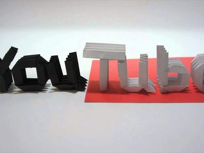 Origami Alphabet (Jo Nakashima)