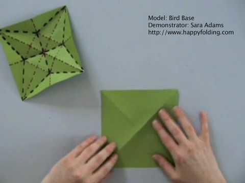 Origami Basics: Bird Base