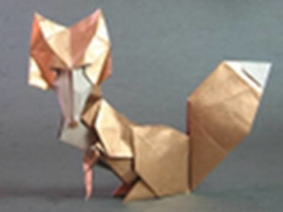 Origami Instructions: vixen. fox (Román Díaz)
