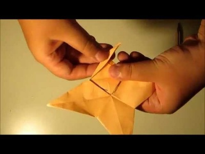 Origami Spinning Top By Sean19996 (TUTORIAL)