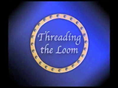 Part 1 Threading the Loom - Round Loom Knitting Knifty Knitter