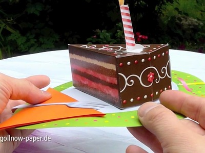 "Pop Up Cards ""Fancy Cakes"""