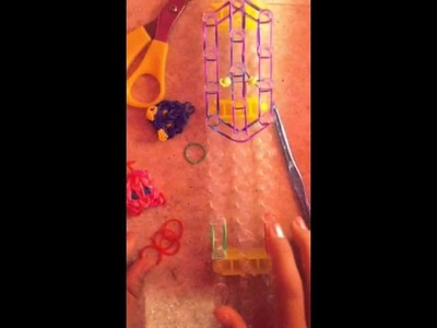 Rainbow loom Kirby tutorial
