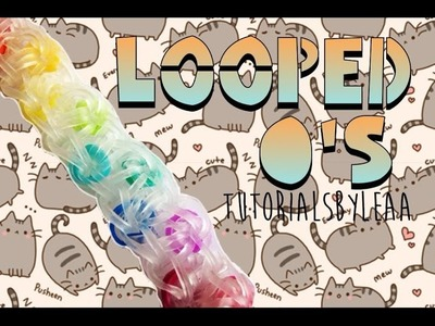 Rainbow Loom- Looped O's- Tutorial.How To