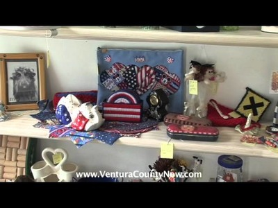 Senior Craft: Downtown Ventura: Everything in our shop is handcrafted by seniors