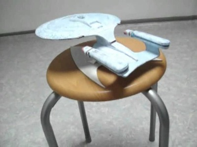 Star Trek Enterprise-D papercraft model