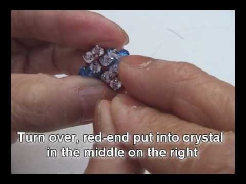 Swarovski Pink-Blue crystal pendant Part 1