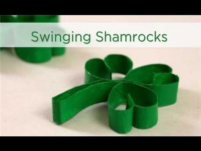 Swinging Shamrocks - St Patrick's Day Craft