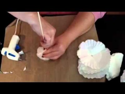 The Craftin' Geek {Coffee Filter Flowers}