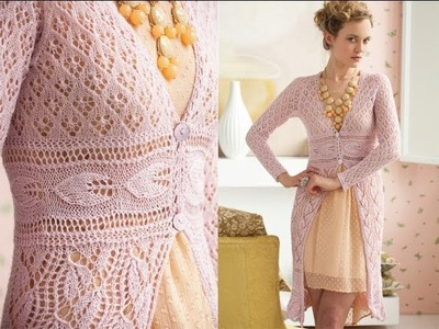 #1 Lace Coat, Vogue Knitting Early Fall 2012