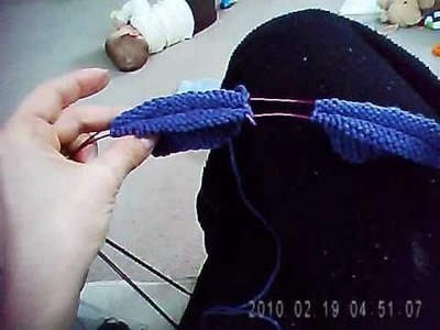 2 socks on 2 circulars