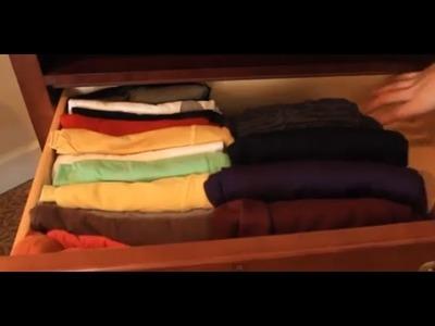 Best Way to Fold T-Shirts