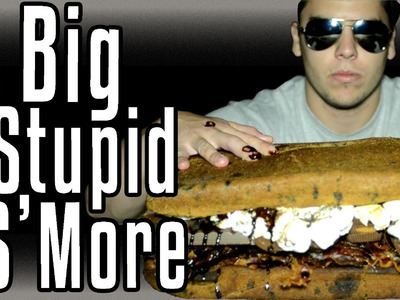 Big Stupid S'More! - Epic Meal Time