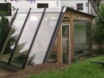 Building a diy designer greenhouse in 5 minutes