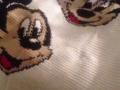 Crochet graph afghan part 3 of . .