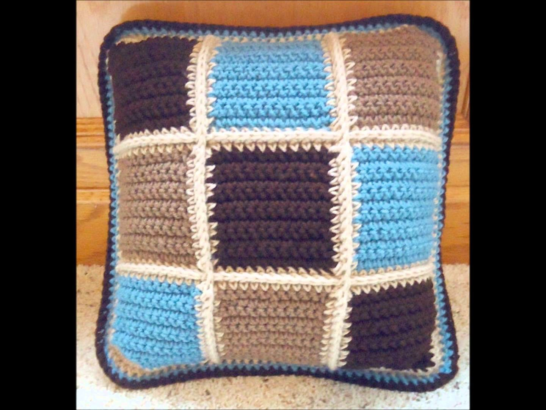 Crochet Projects - Throw Pillows, Blankets, Washcloths, Dishcloths, Scrubbies, Sponges