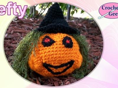 Crochet Pumpkin - Crochet Geek Left Hand Crochet Geek