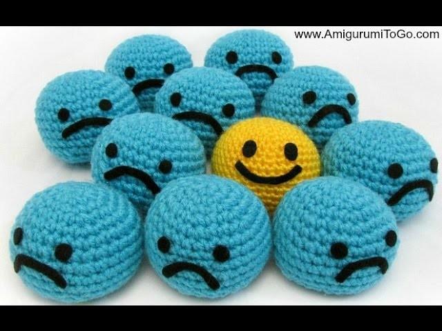 Crochet Smiley Ball