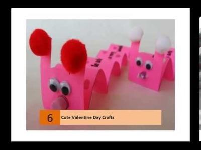 Cute Valentine Day Crafts