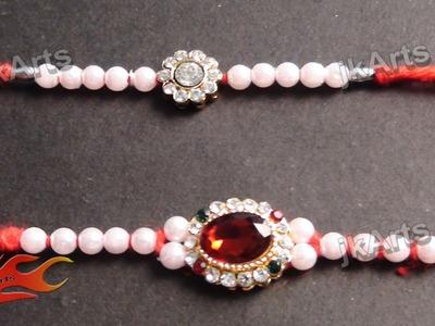 DIY Beads Rakhi for Raksha Bandhan JK Arts 356